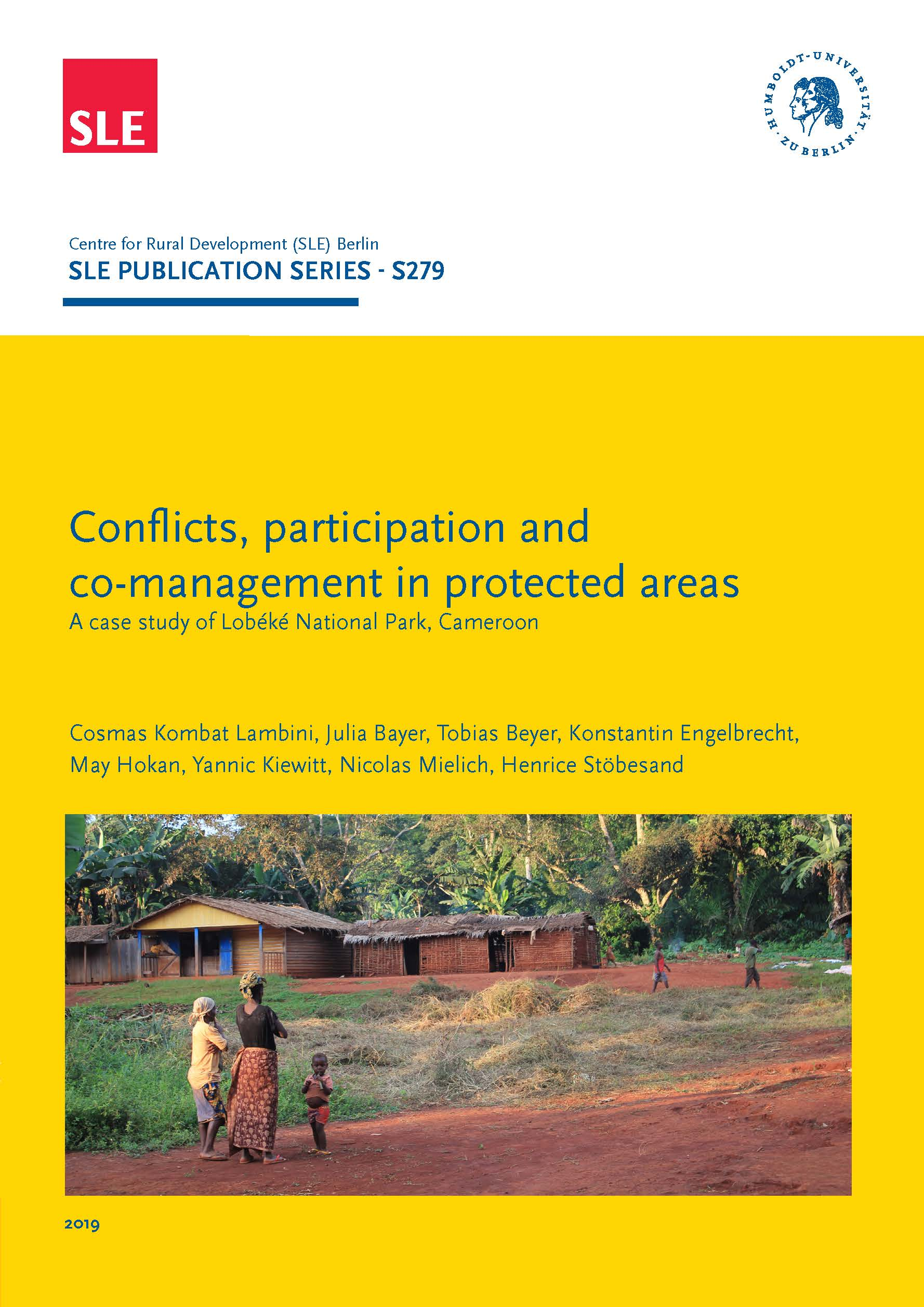 SLE 279 Conflicts participation and co management in protected areas Seite 001