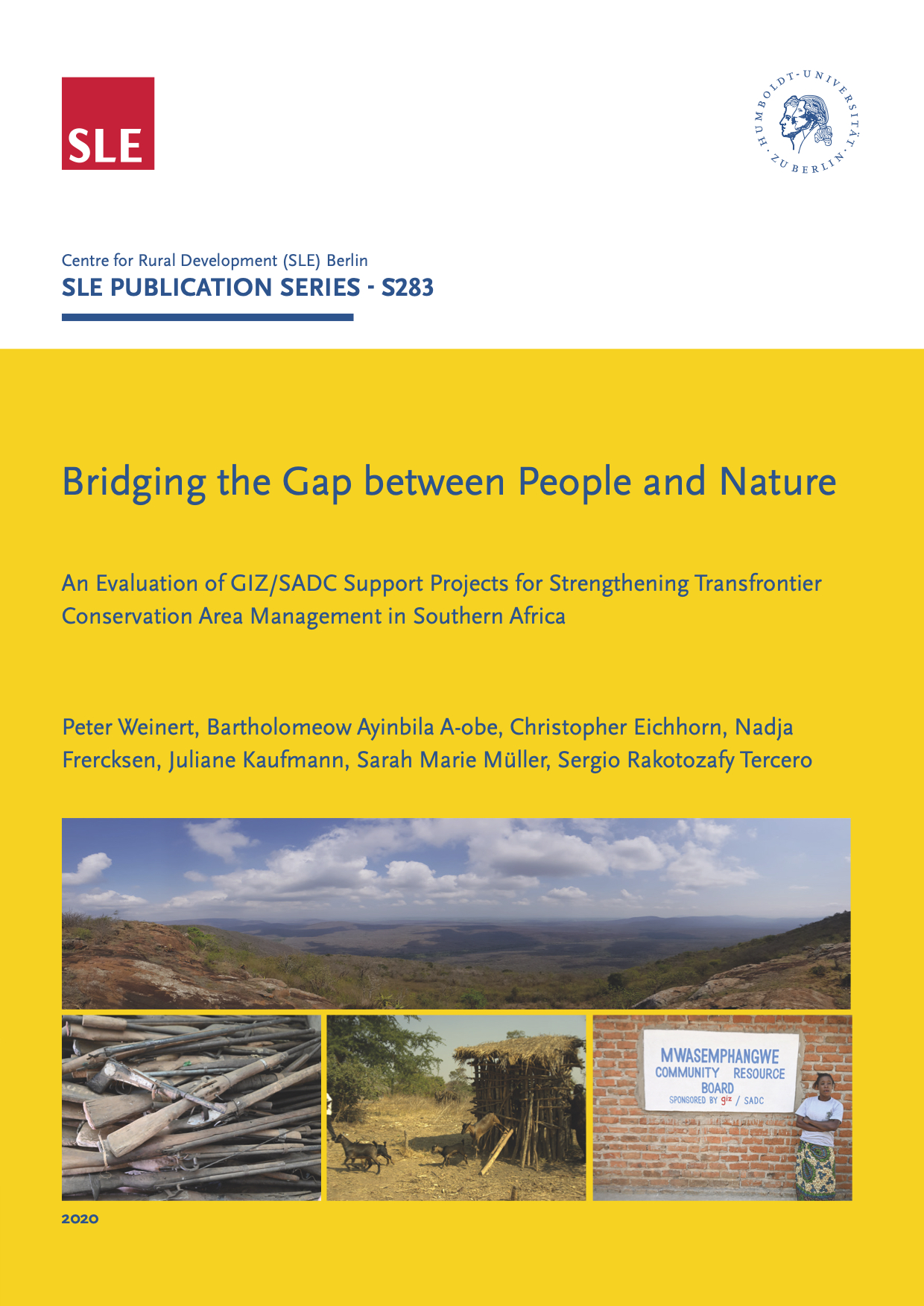 SLE283 Bridging the Gap between People and Nature 1