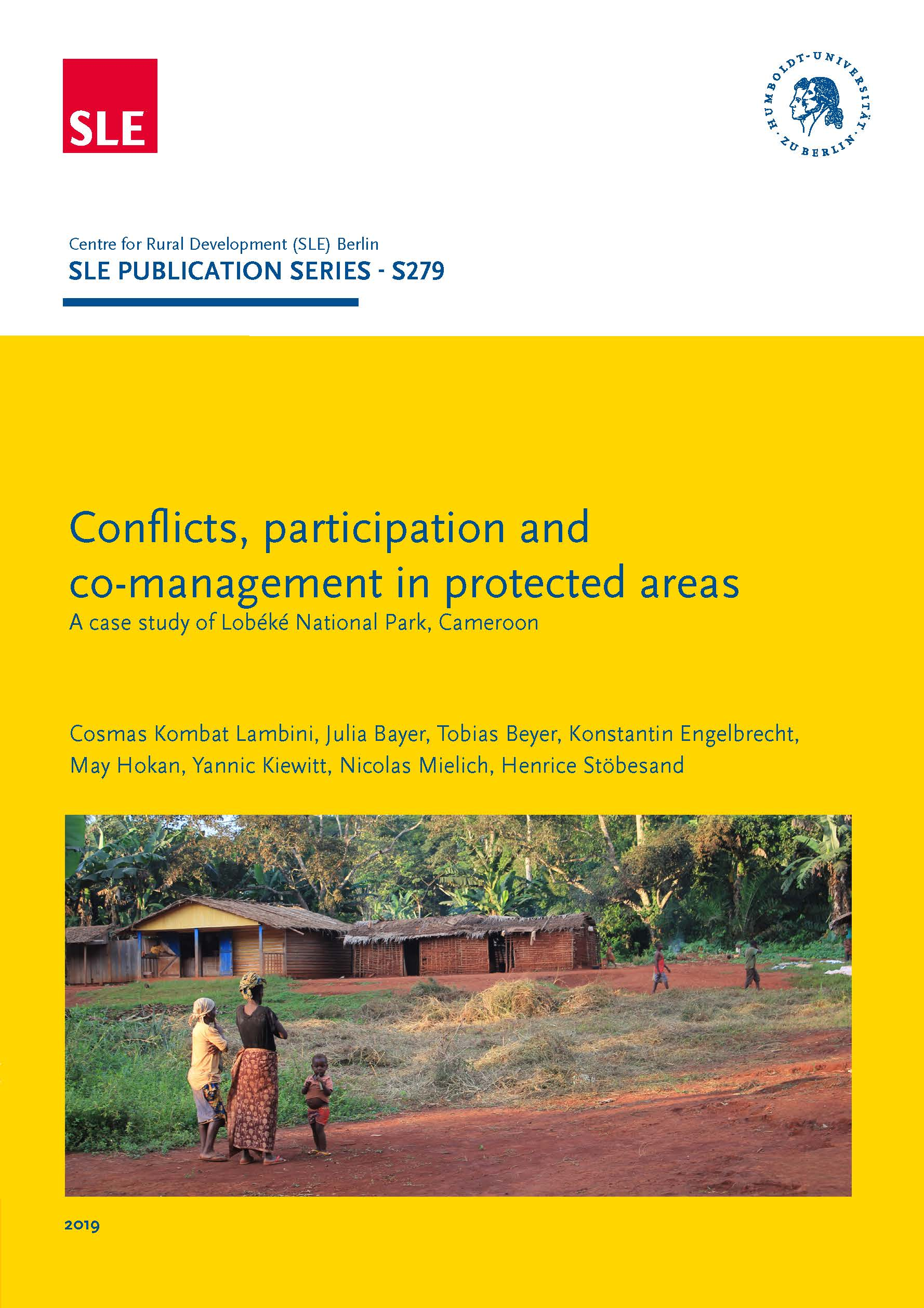 SLE 279 Conflicts participati management in protected areas 1