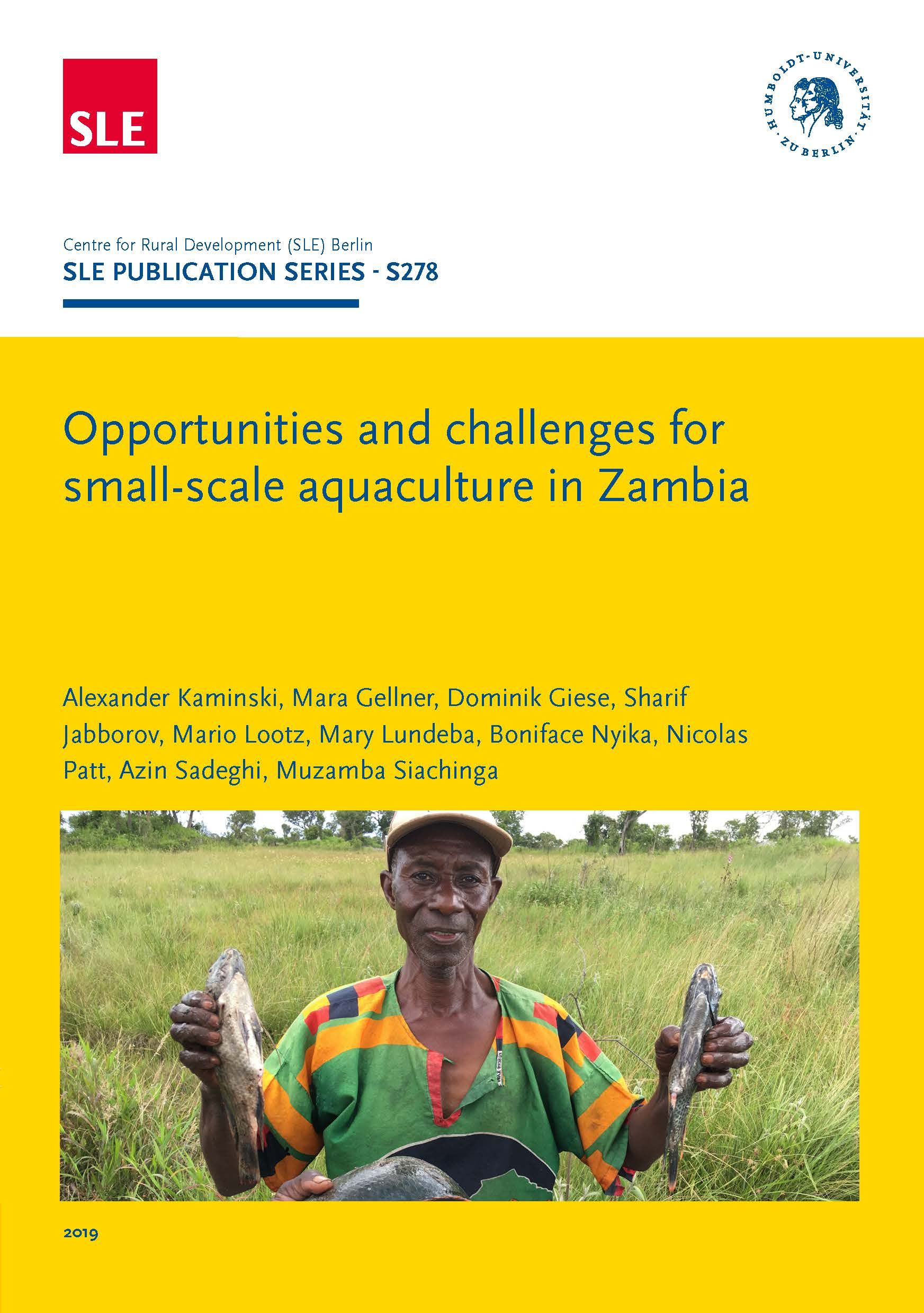 SLE 278 Opportunities and challenges for small scale aquaculture in Zambia Seite 001