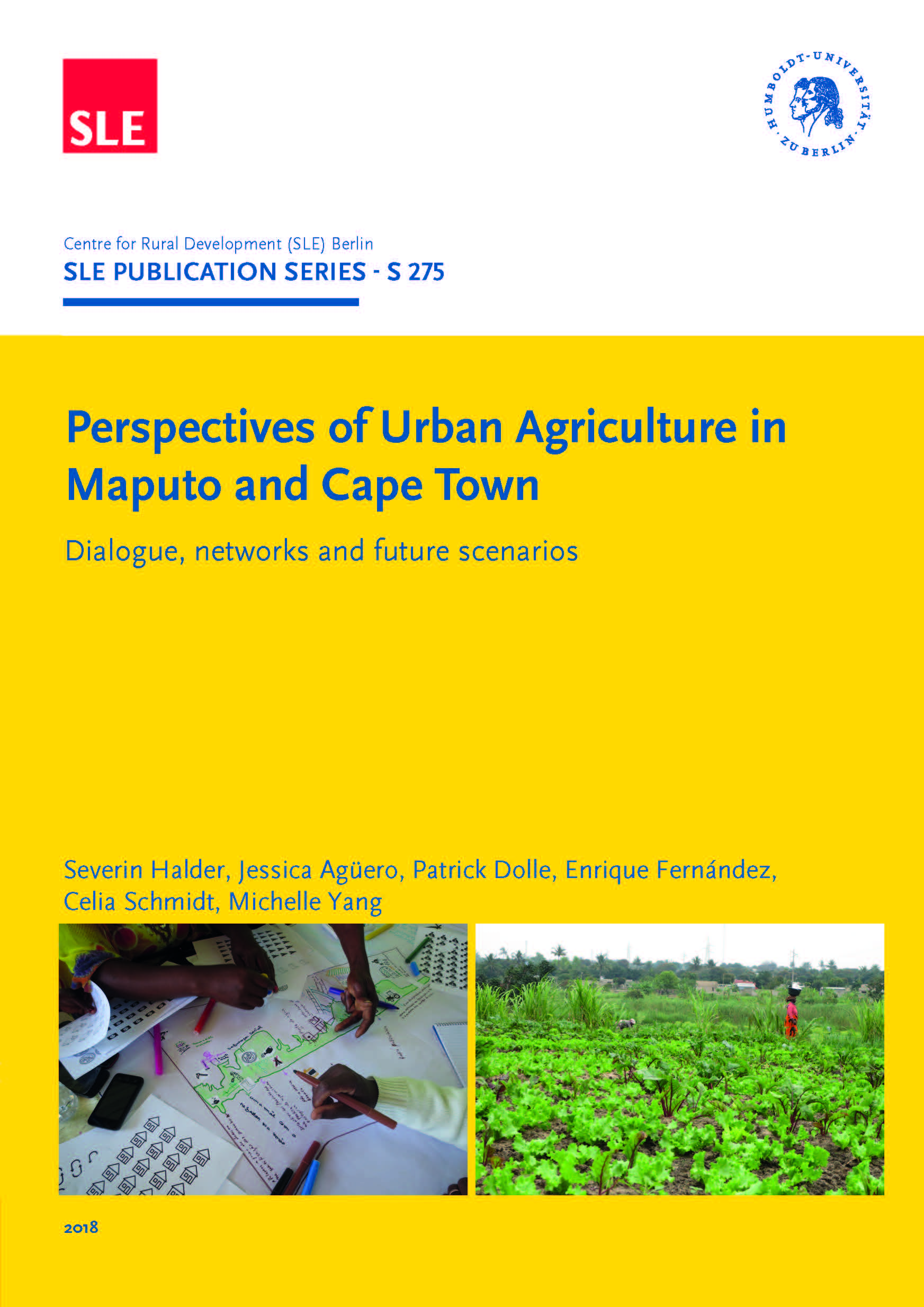 SLE 275 Perspectives of Urban Agriculture in Maputo and Cape TownTeil1