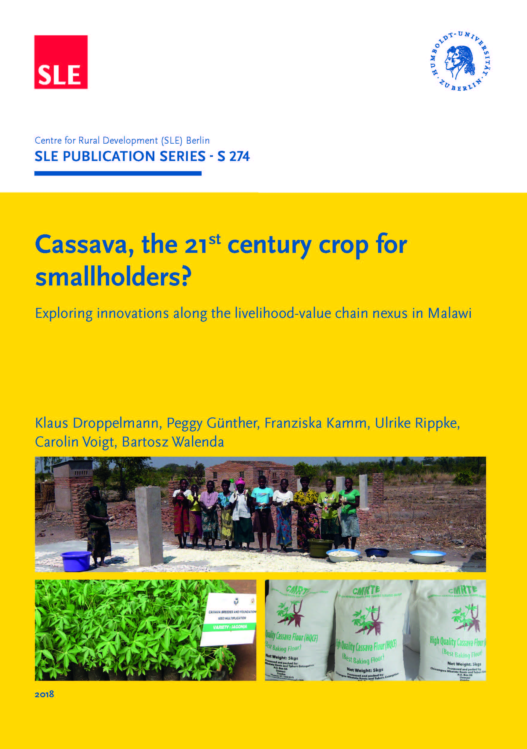 SLE 274 Cassava the 21st century crop for smallholders 1